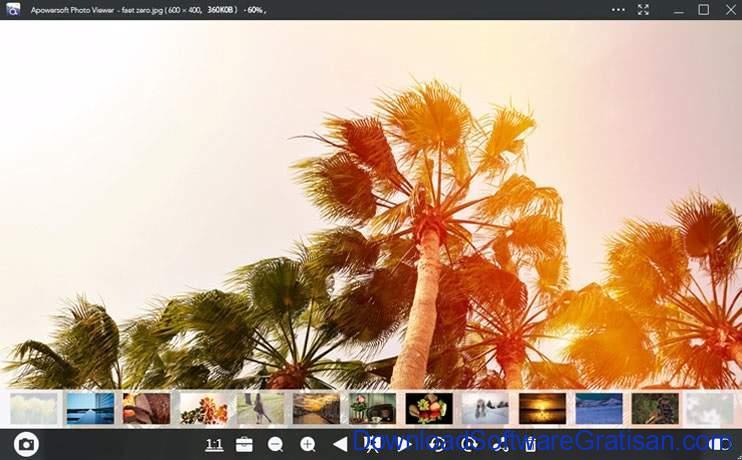 Aplikasi Pembuka Foto di PC Windows Gratis Terbaik Apowersoft Photo Viewer