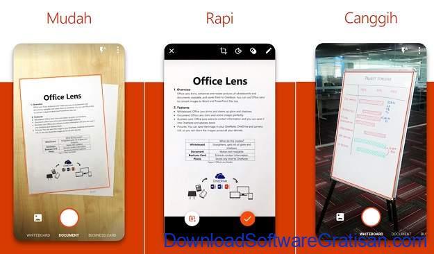 Aplikasi Pemindai Dokumen Gratis Terbaik untuk Android Microsoft Office Lens