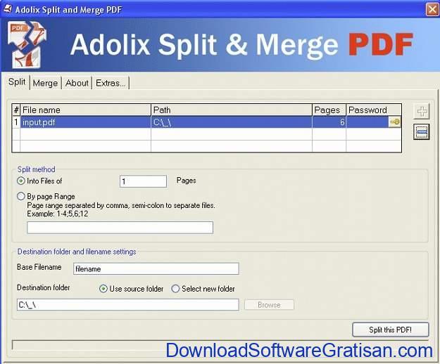 Aplikasi Pemisah PDF Offline Gratis Terbaik - Adolix
