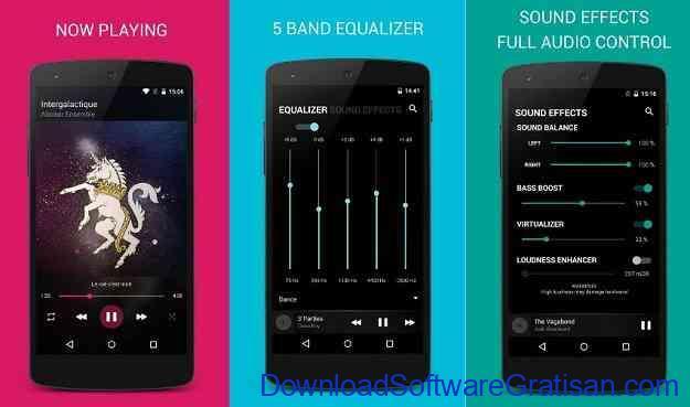 Aplikasi Pemutar Musik Terbaik untuk Android BlackPlayer