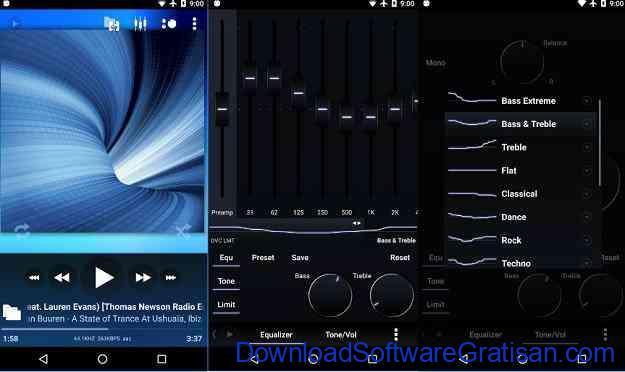 Aplikasi Pemutar Musik Terbaik untuk Android Poweramp Music Player
