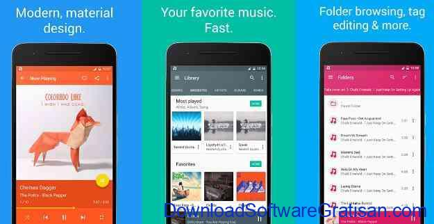Aplikasi Pemutar Musik Terbaik untuk Android Shuttle