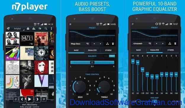 Aplikasi Pemutar Musik Terbaik untuk Android n7player