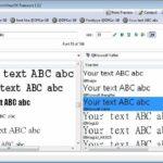 Aplikasi Penampil Font Gratis untuk PC Windows FontViewOK
