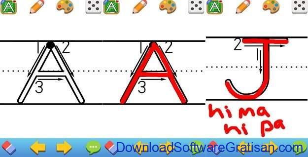 Aplikasi Pendidikan Anak Gratis Terbaik untuk Android 123s ABCs Handwriting Fun