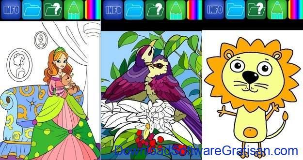 Aplikasi Pendidikan Anak Gratis Terbaik untuk Android Coloring Book