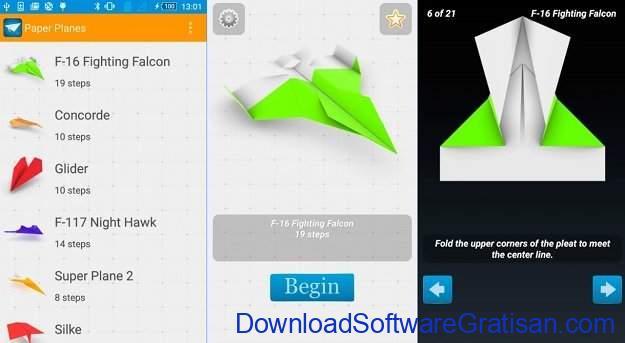 Aplikasi Pendidikan Anak Gratis Terbaik untuk Android How to make Paper Airplanes