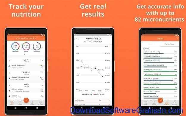 Aplikasi Penghitung Kalori Terbaik - Cron-o-meter