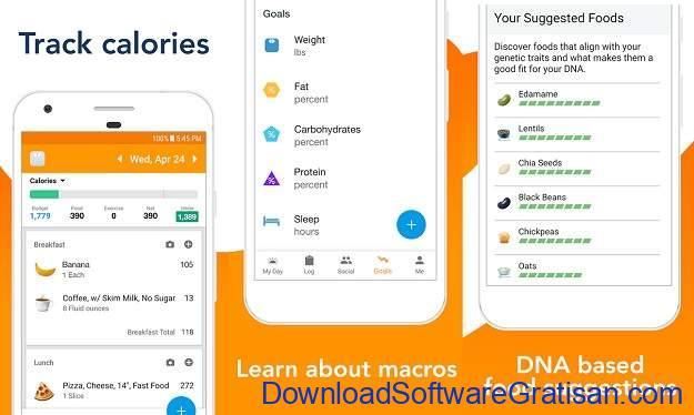 Aplikasi Penghitung Kalori Terbaik - Lose It!