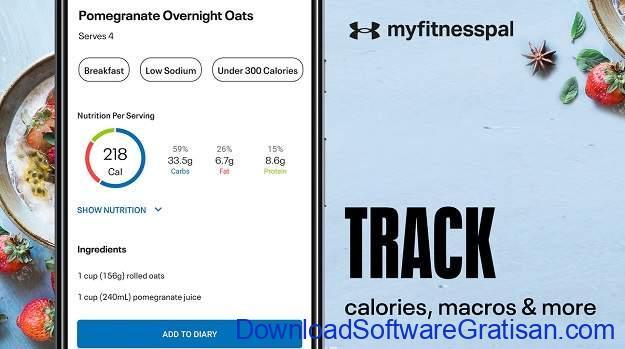 Aplikasi Penghitung Kalori Terbaik - MyFitnessPal