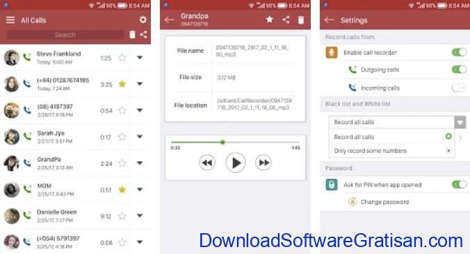 Aplikasi Perekam Panggilan Terbaik - Automatic Call Recorder by recorder & smart apps