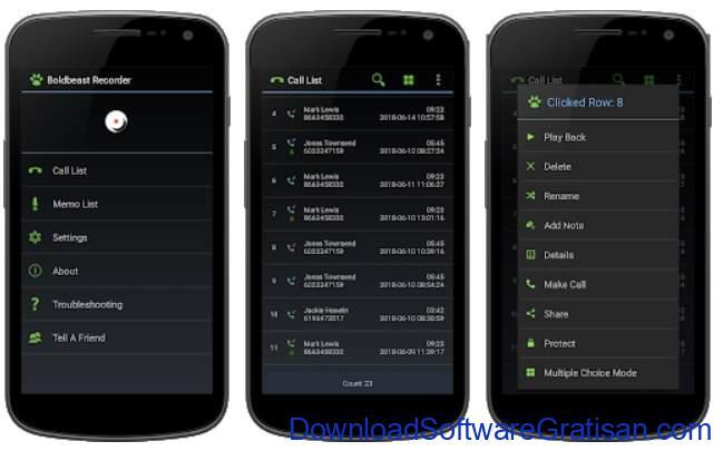 Aplikasi Perekam Panggilan Terbaik - Boldbeast Call Recorder