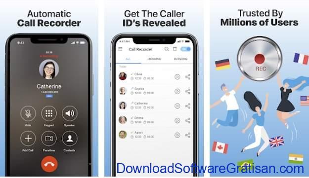 Aplikasi Perekam Panggilan Terbaik - Call Recorder Automatic