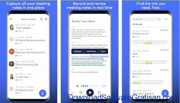 Aplikasi Perekam Panggilan Terbaik - Otter Voice Meeting Notes