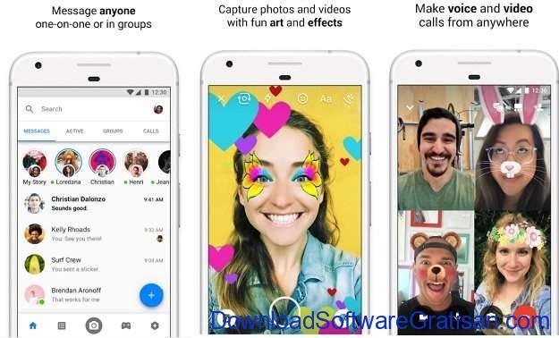 Aplikasi Pesan Android Facebook Messenger