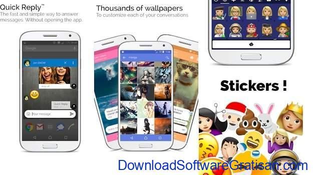 Aplikasi Pesan Android Mood Messenger