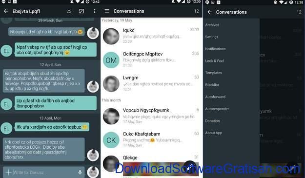 Aplikasi Pesan Android YAATA SMS