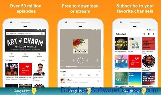 Aplikasi Podcast Android Gratis Terbaik Castbox