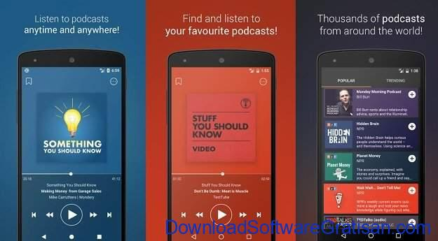 Aplikasi Podcast Android Gratis Terbaik Podcast Go