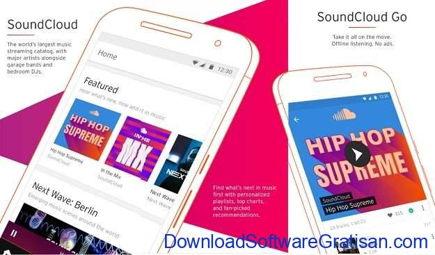 Aplikasi Podcast Android Gratis Terbaik SoundCloud