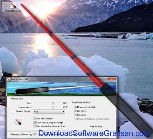 Aplikasi Pointer Mouse Gratis PointerStick