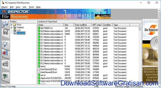 Aplikasi Recovery Data Terbaik untuk Mengembalikan Data yang Terhapus PC Inspector File Recovery