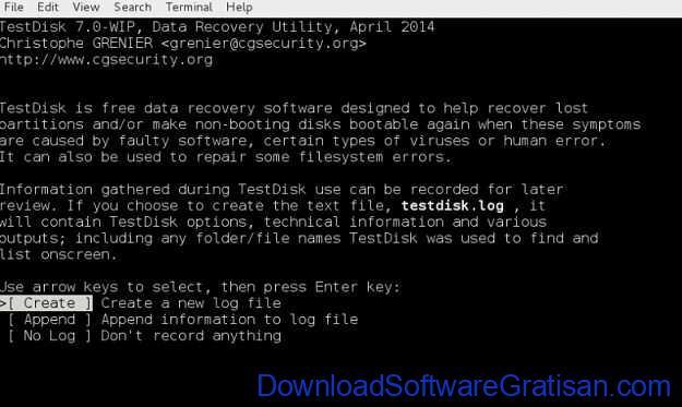 Aplikasi Recovery Data Terbaik untuk Mengembalikan Data yang Terhapus TestDisk
