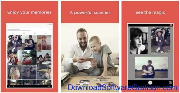 Aplikasi Scan Foto Terbaik untuk Android - Photo Scan App by Photomyne