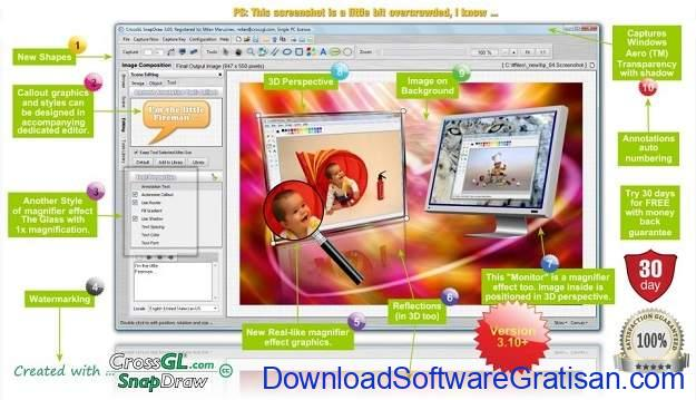 Aplikasi Screenshot PC Gratis Terbaik - SnapDraw