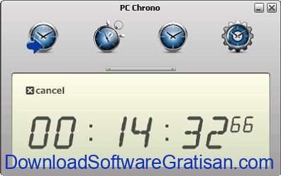Aplikasi Stopwatch atau Timer Gratis Terbaik PC Chrono