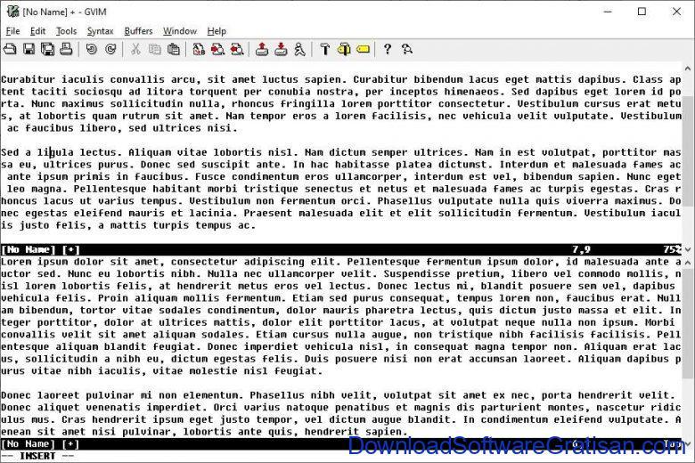 Aplikasi Teks Editor Terbaik PC Laptop - VIM