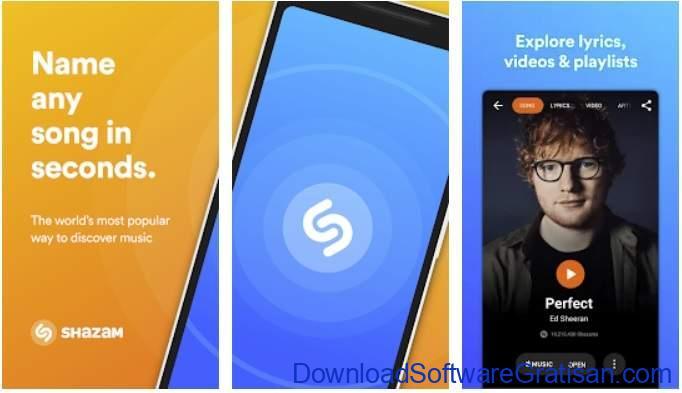 Aplikasi Terbaik untuk Mengenali Lagu - Shazam