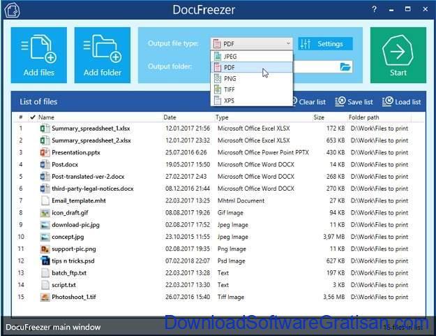 Aplikasi Terbaik untuk Mengonversi PDF ke JPG DocuFreezer