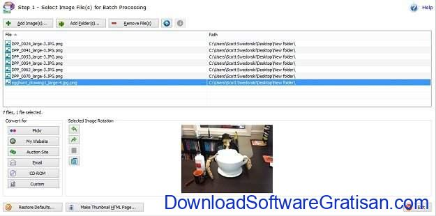 Aplikasi Terbaik untuk Mengubah atau Convert Format Gambar PixConverter