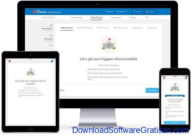 Aplikasi Terbaik untuk untuk Bisnis Kecil dan Menengah TurboTax Self-Employed