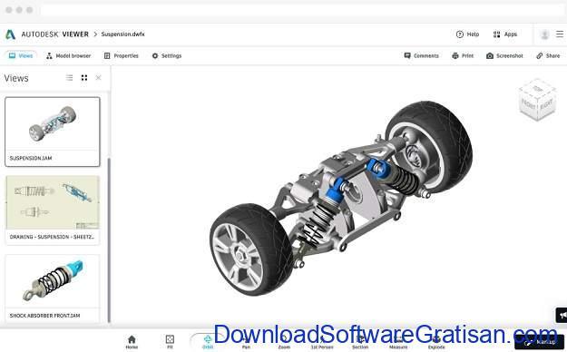 Aplikasi Untuk Melihat File AutoCAD Autodesk Viewer