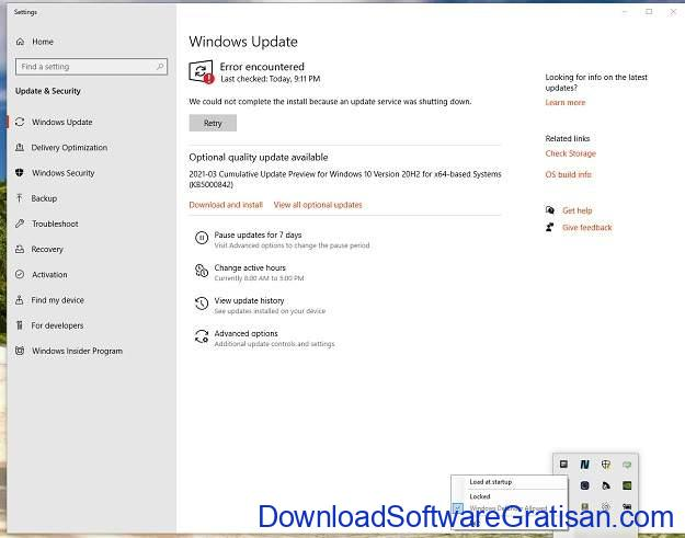 Aplikasi Untuk Memblokir Update Windows Kill-Update - Main