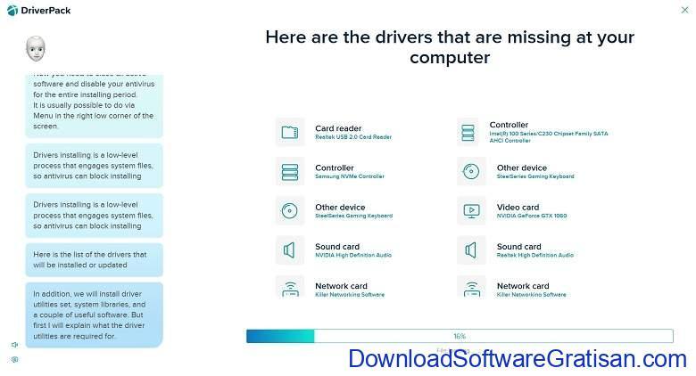 Aplikasi Update Driver PC Laptop Gratis Terbaik - DownloadSoftwareGratisanCom - DriverPack Solution
