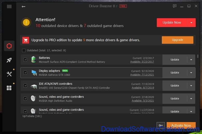 Aplikasi Update Driver PC Laptop Gratis Terbaik - DownloadSoftwareGratisanCom - IOBit Driver Booster