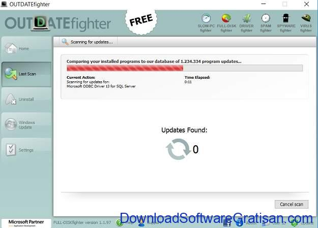 Aplikasi Update Software PC Gratis Terbaik OutdateFIGHTER