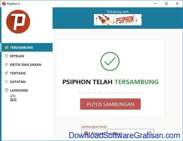 Aplikasi VPN untuk PC Pshipon