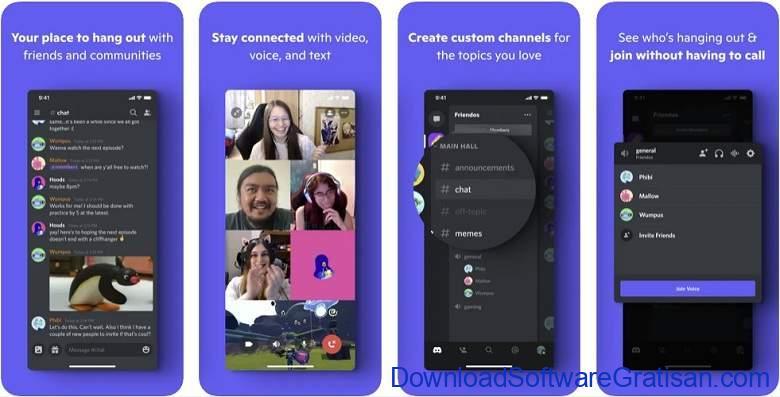 Aplikasi Video Call Gratis Terbaik - Discord