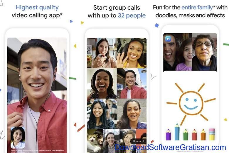 Aplikasi Video Call Gratis Terbaik - Google Duo