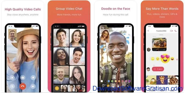 Aplikasi Video Call Gratis Terbaik - JusTalk