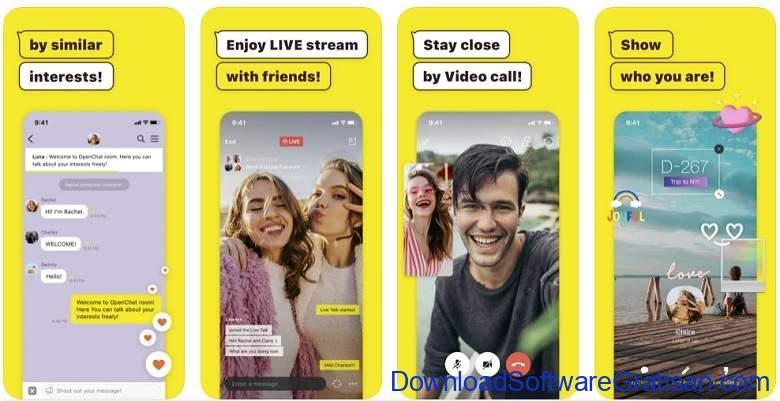 Aplikasi Video Call Gratis Terbaik - KakaoTalk