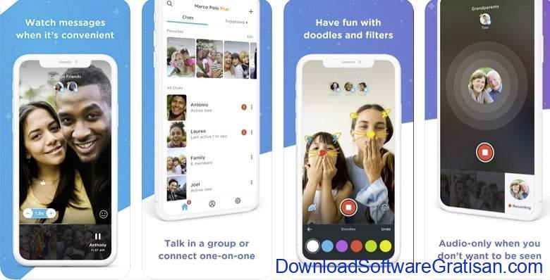 Aplikasi Video Call Gratis Terbaik - Marco Polo