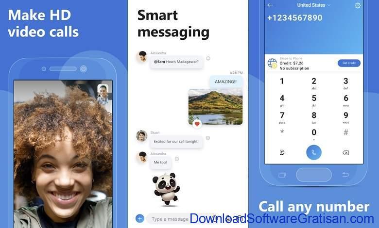 Aplikasi Video Call Gratis Terbaik - Skype