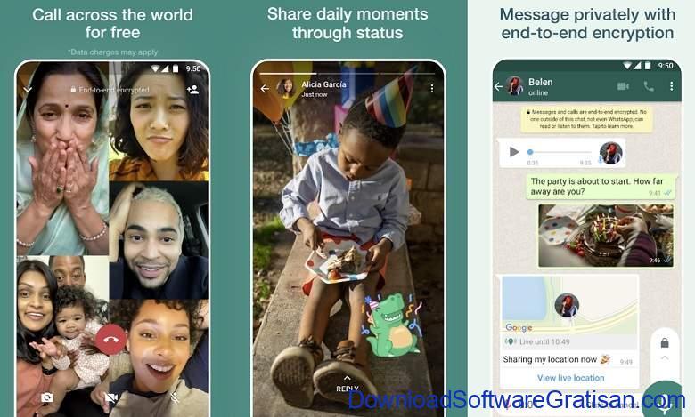 Aplikasi Video Call Gratis Terbaik - WhatsApp