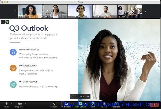 Aplikasi Video Chat Terbaik - Zoom