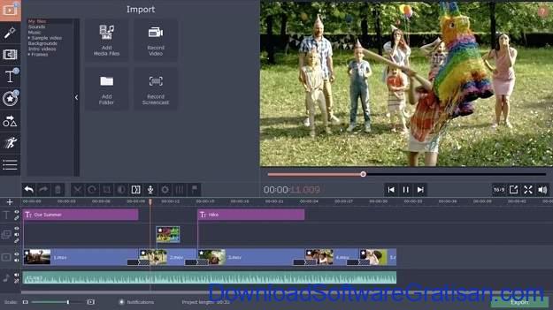 Aplikasi Video Maker Terbaik Untuk Windows 10 - Movavi Video Editor